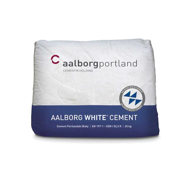 Bia�y cement